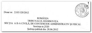 sentinta T Dambovita_iunie 2012